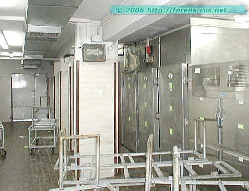 Подвал. Холодильные камеры