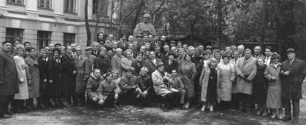 Кафедра судебной медицины 2 МОЛМИ им. Пирогова 1910-1990 гг.